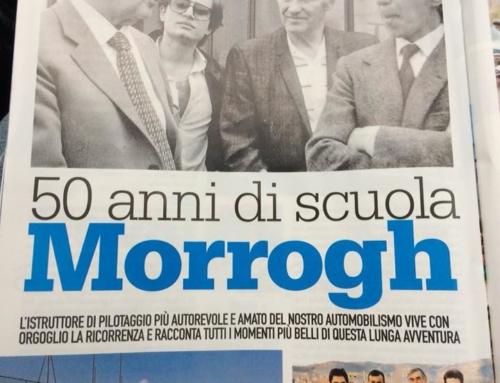 50 ANNI DI SCUOLA MORROGH, AUTOSPRINT marzo 2018