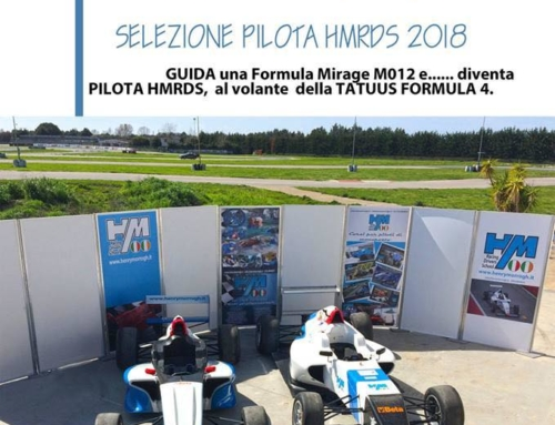 Calendario sportivo selezione pilota HMRDS 2018