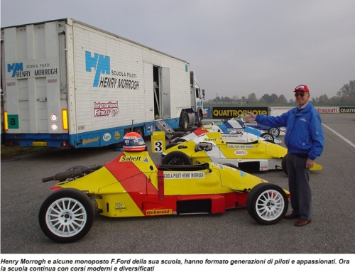 Buon compleanno Henry Morrogh Racing Driver School, compie 50 anni