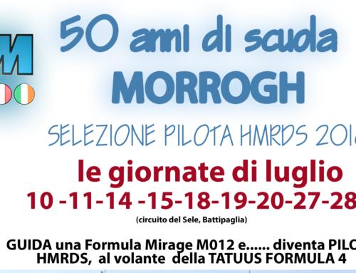 SELEZIONE PILOTA 2018, GIORNATE DI LUGLIO