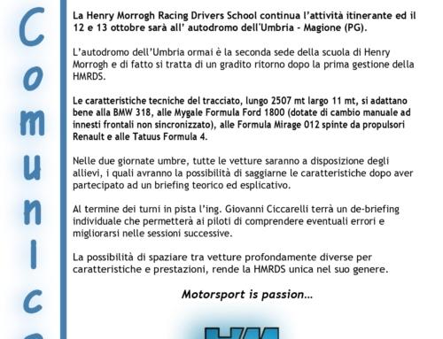 12 e 13 Ottobre 2021, autodromo dell'Umbria – Magione (PG)